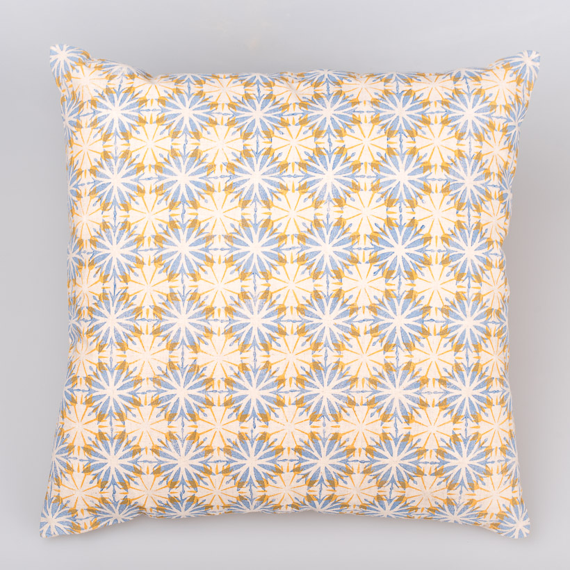 dubaruba_sunflower cushion cover- handcrafted made in africa-south africa- cape town