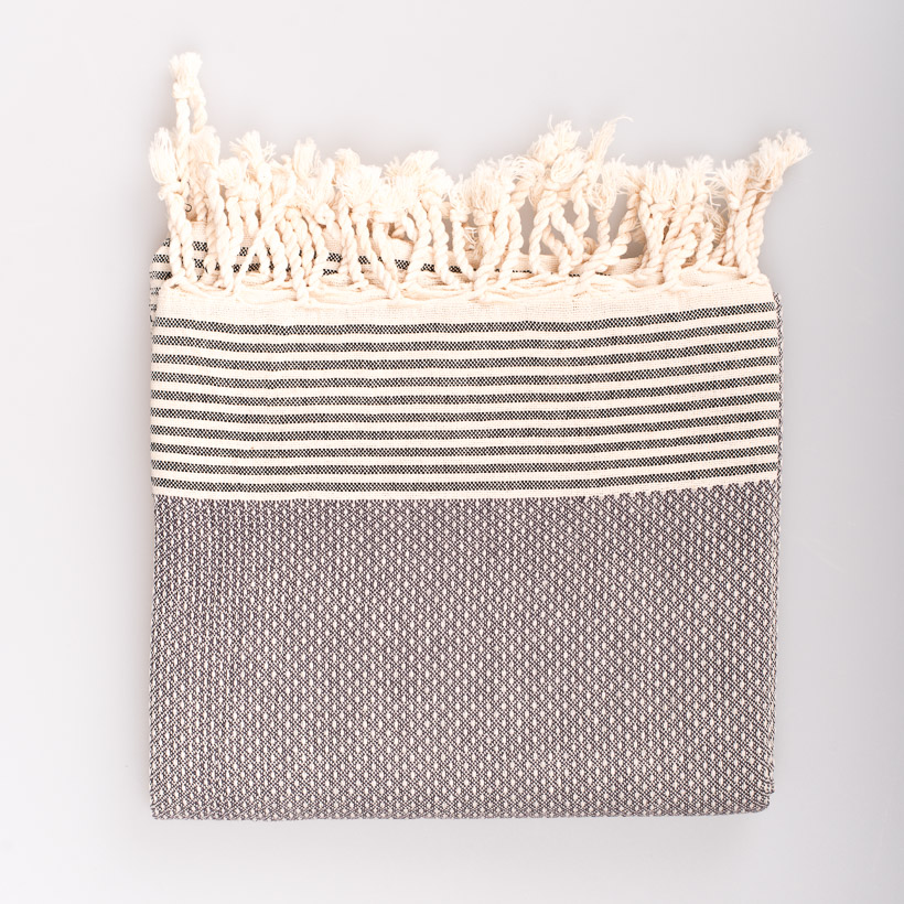 dubaruba_grey fouta made in tunesia