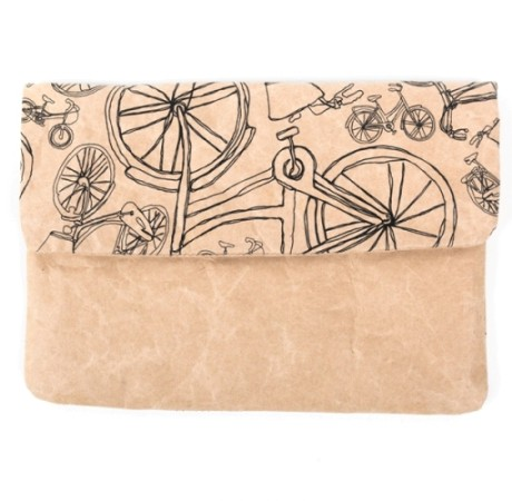 Dubaruba Wren Design Bicycle mini ipad sleeve