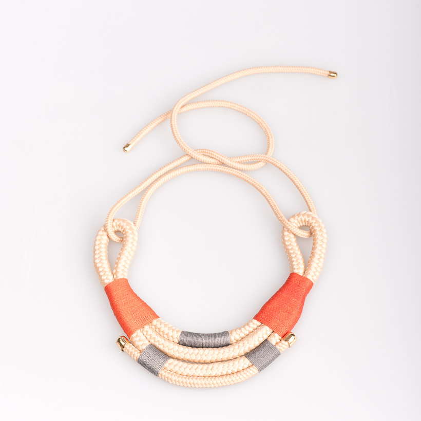 dubaruba_beige mali necklace pichulik handcrafted made in africa south africa cape town