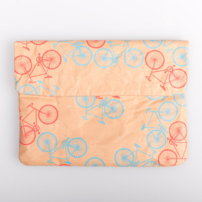dubaruba_paper sleeve mini-the bicycle the wren design south africa cape town handcrafted made in africa